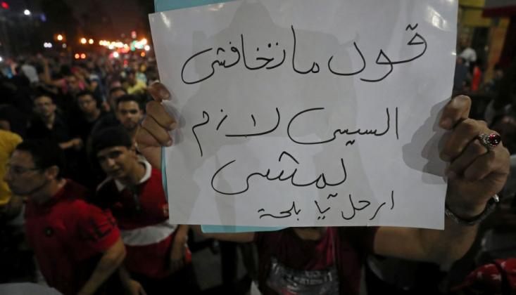 Sisi Karşıtı Eylemlerde Protestocular Gözaltına Alınıyor