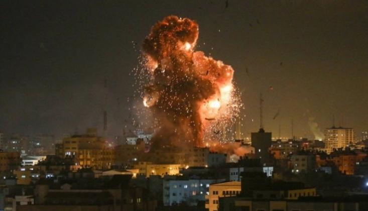 Siyonist Rejim'in Gazze Şeridine Yönelik Saldırıları Sürüyor