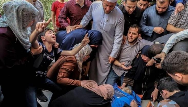 İşgalci Siyonist İsrail Saldırılarında Şehit Sayısı Arttı