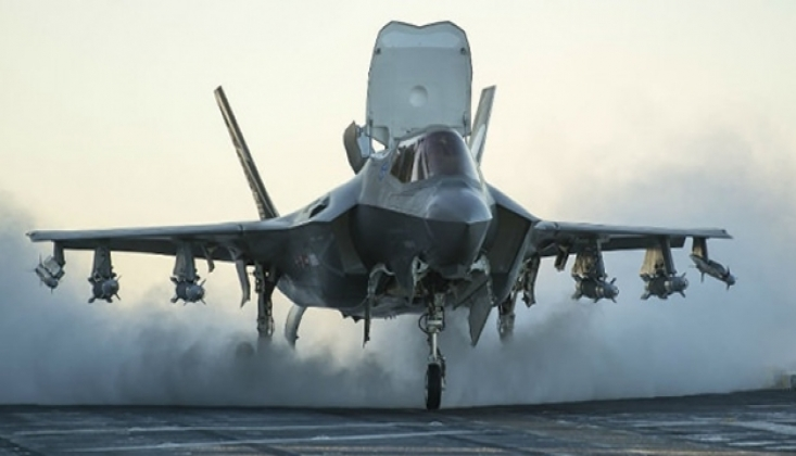 Türkiye'nin Büyük Paralar Ödediği F-35'ler Yunanistan Veriliyor