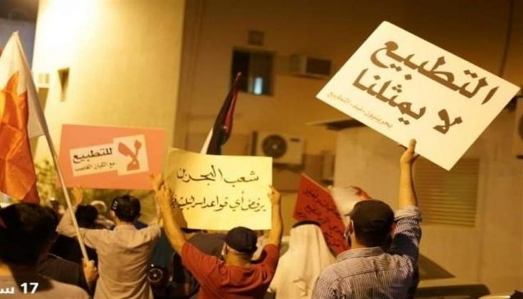 Bahreynliler, Rejimin Baskılarına Rağmen Normalleşmeyi Protesto Etmeye Devam Ediyor