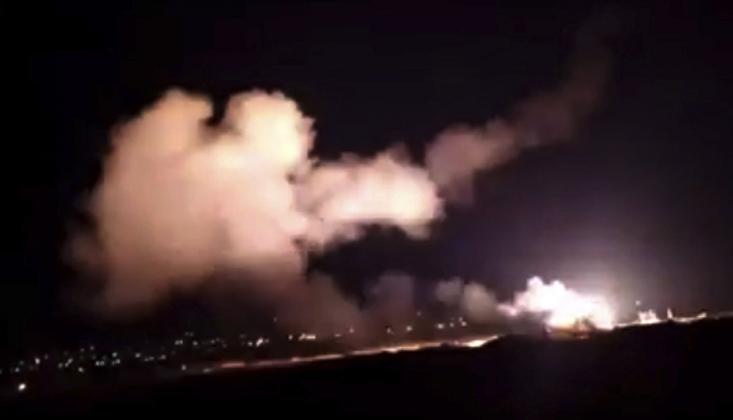 Suriye: Hava Sahasına Giren Düşman Hedefler Vuruldu