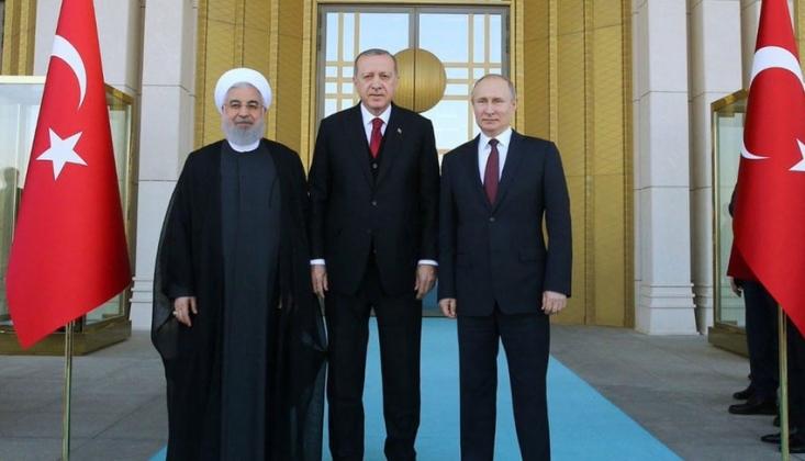 Ankara'da Üçlü Suriye Zirvesi