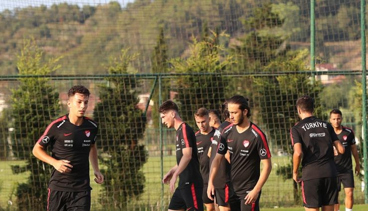 Ümit Milli Takım, Andorra Maçı Hazırlıklarına Başladı