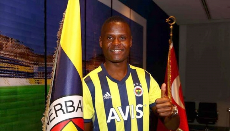 Fenerbahçe'nin Yeni Transferi Samatta, İlk İdmanına Çıktı