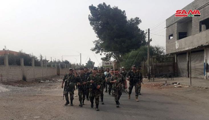 Suriye Ordusu Dera'yı Yerleşim İçin Hazırlıyor