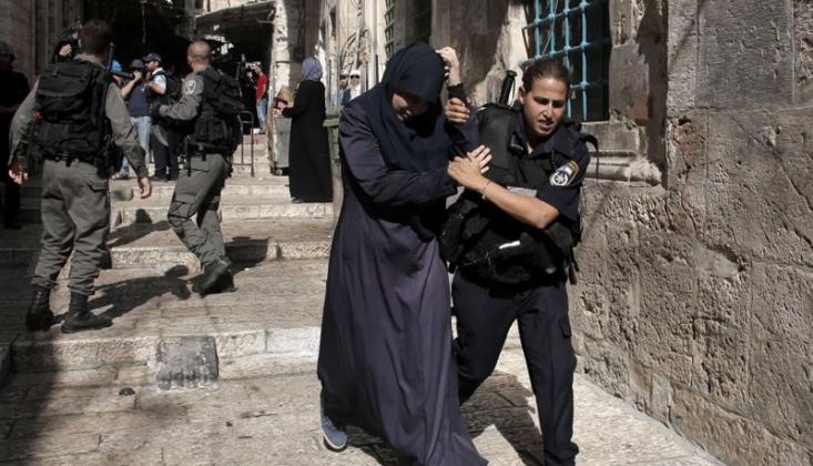 Filistinli 69 Kadın Irkçı İsrail Tarafından Tutuklandı