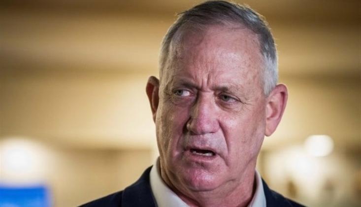 """Gants: """"Gazze Şeridi'ne Saldırılarımızı Sürdüreceğiz"""""""