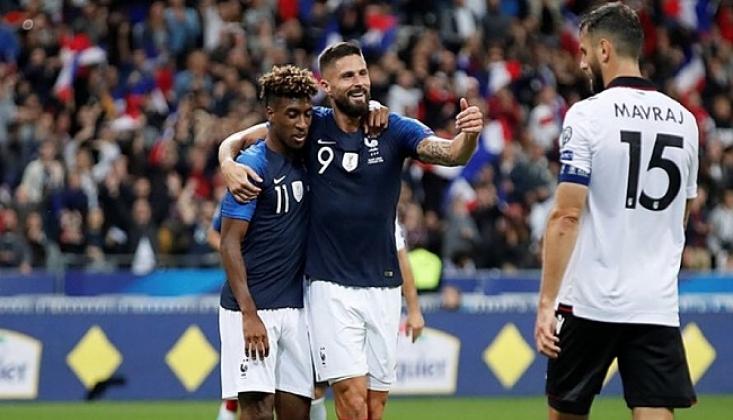Fransa, Arnavutluk'a Gol Yağdırdı!