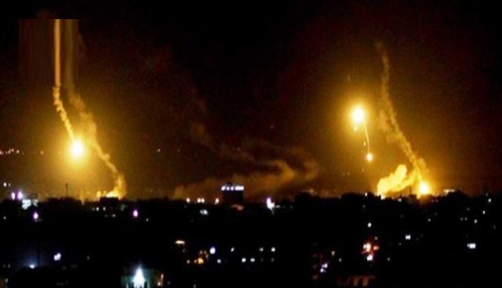 Terör Rejimi İsrail'den Gazze'ye Saldırı