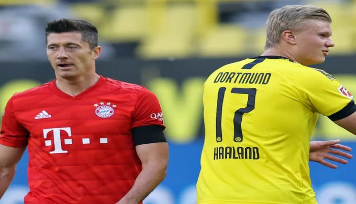 Lewandowski ve Haaland Kapıştı!