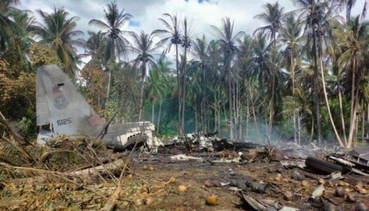 Filipinler'de Askeri Uçak Düştü: Can Kaybı Yükseliyor