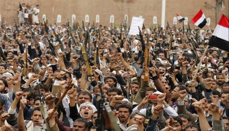 Yemen İnkılabının 7. yıldönümünde Suudi Arabistan'ın Hezimeti