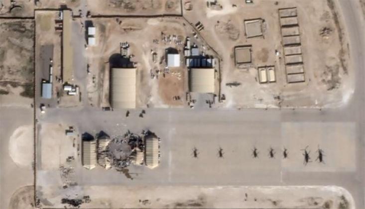 İran'ın Füze Saldırısı Sırasında Amerikalıların Ayn'ul Esed'deki Durumu
