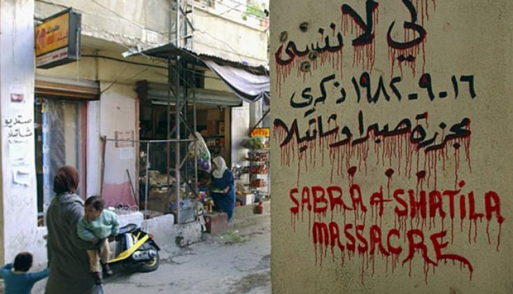Hamas: Sabra ve Şatilla Siyonist Düşmanın Suçlu Olduğunun En Açık Göstergesi