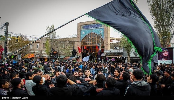 İran'da Tasua Günü Yas Merasimleri