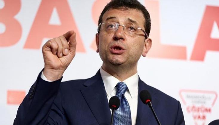 İmamoğlu Parti Başkanlarına Kanal İstanbul'u Anlattı