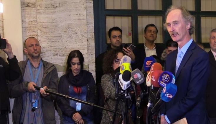 Pedersen: Suriye Anayasa Görüşmeleri Başarısızlıkla Sonuçlandı
