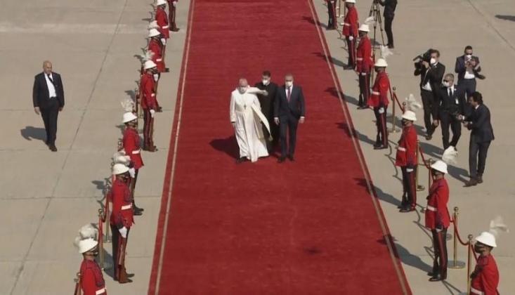 Papa'nın Irak Ziyareti Başladı