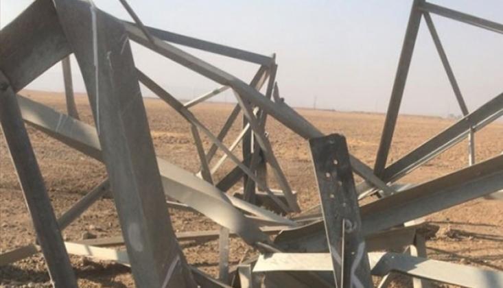 IŞİD'den Irak'ta Elektrik Hatlarına Sabotaj