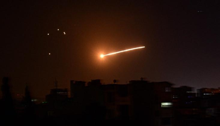 İşgal Rejimi İsrail, Suriye'ye Saldırdı