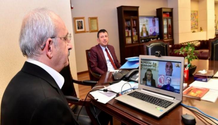 Kılıçdaroğlu Sendika Yöneticileri ile Korona Virüs Gündemli Toplantı Yaptı