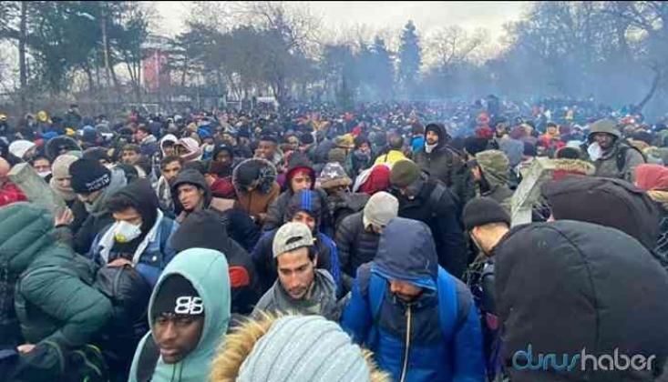 Edirne Üzerinden Ayrılan Göçmen Sayısı 100 Bin 577