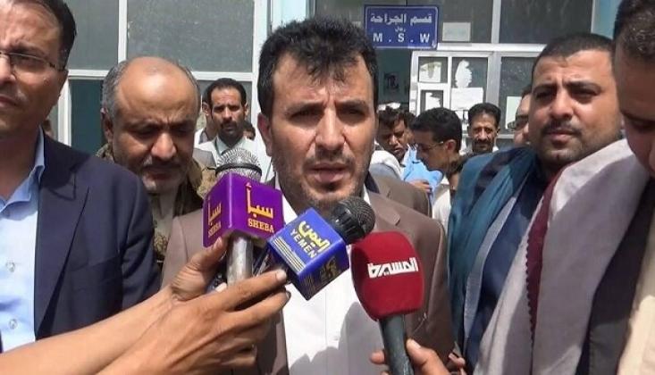Yemen Sağlık Bakanı Hastalıkların Yayılma Sebebini Açıkladı