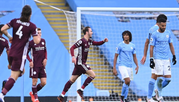 Leicester'dan Manchester City'e 5'li Tarife