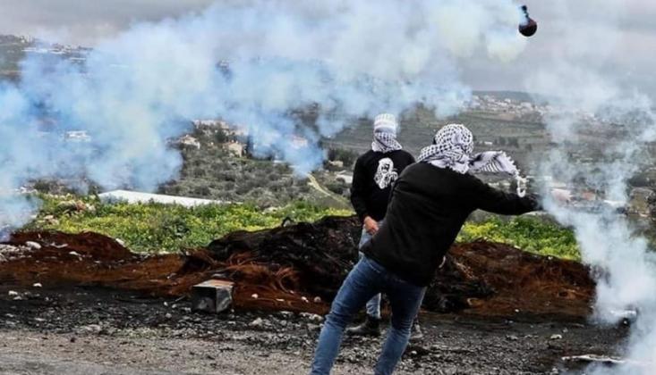 İşgal Güçleriyle Filistinliler Arasında Çatışma