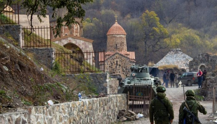 Rusya: Siviller Karabağ'a Geri Dönüyor