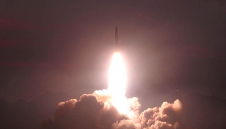 Kuzey Kore'den Japon Denizi'ne Yeni Füze Atışı