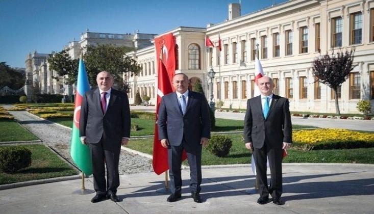 Türkiye, Azerbaycan ve Gürcistan Dışişleri Bakanları Bir Araya Geliyor