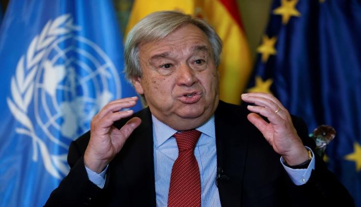 Guterres: Lübnan Siyasi Güçlerinin Bir Araya Gelmesini Umuyorum