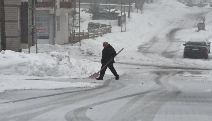 Kars'ta Eğitime Kar Tatili