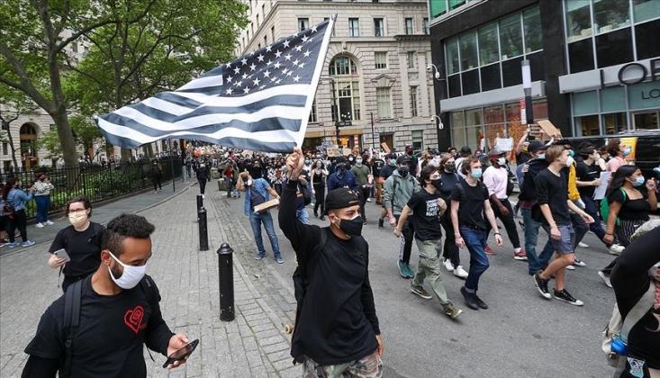 ABD'de Ülke Geneline Yayılan Protestolar 8. Gününde