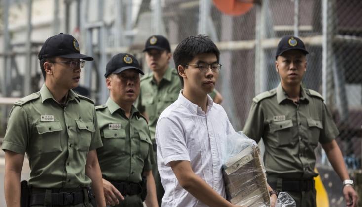 Hong Kong Eylemcilerinin Lideri Tutuklandı