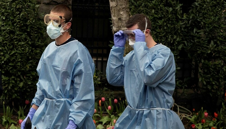 ABD'de En Yüksek Günlük Koronavirüs Vaka Sayısı Tespit Edildi