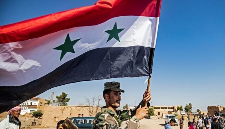 Suriye Ordusu Stratejik Bölgenin Kontrolünü Geri Aldı