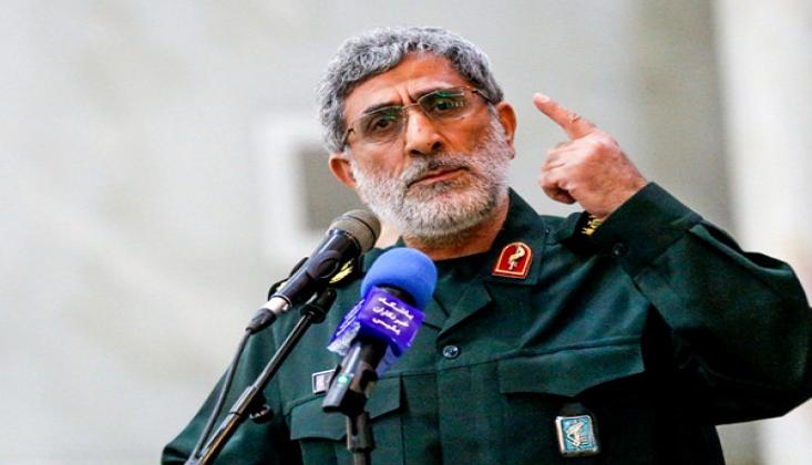Kudüs Gücü Komutanı, Iraklı Yetkililerle Görüştü