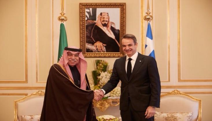 Yunanistan ve Suud Rejimi Arasında Anlaşma İmzalandı