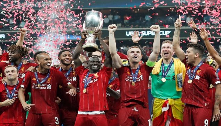UEFA Süper Kupa'yı Liverpool Kazandı