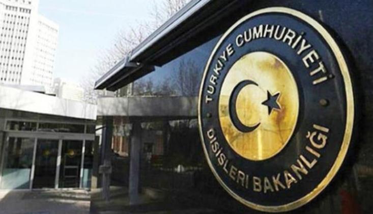 Dışişleri'nden Türk Gemisinde Aramaya Tepki