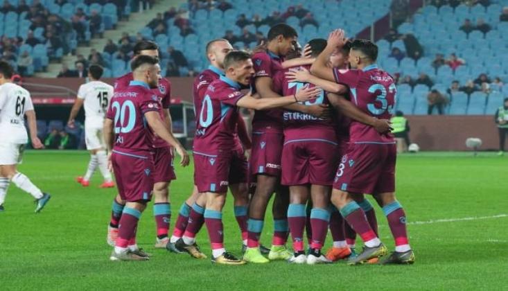 Trabzonspor Kupada Yabancılarıyla Coştu!