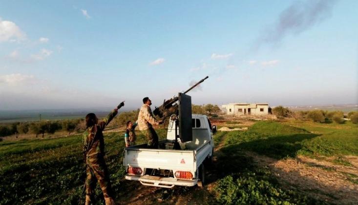 İdlib'deki Militanlar Suriye Ordusuna Saldırdı