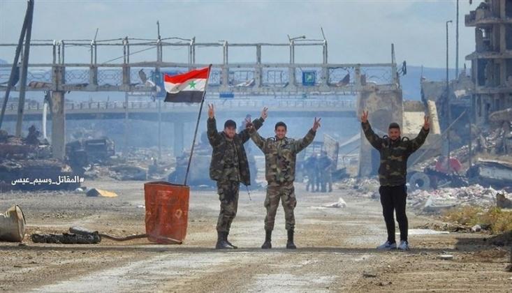Suriye Ordusu ABD Devriye Güçlerinin İlerlemesine Engel Oldu