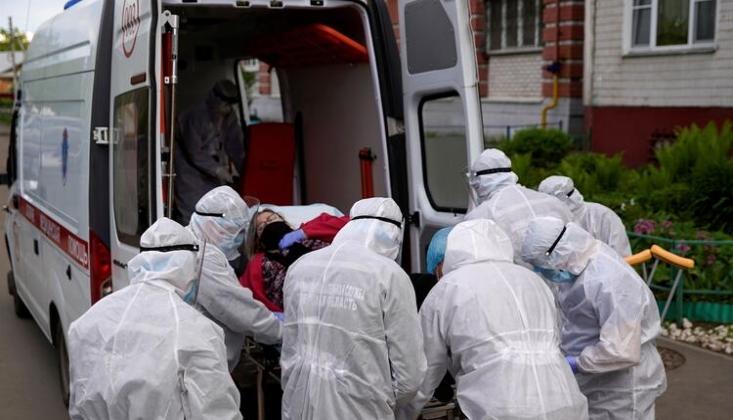 Rusya'da 9 Bin 393 Yeni Koronavirüs Vakası Görüldü