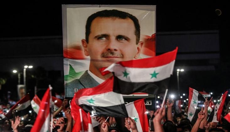 Türkiye'deki Partiden Başkan Esad'a Tebrik Mesajı