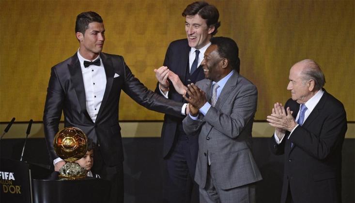 """Pele'den Ronaldo'ya Tebrik! """"Rekorumu Kırdın"""""""