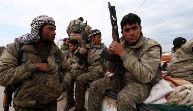 Kürt Militanları, Amerika'nın Suriye'deki Çatışma Çıkarma Aracı